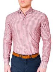 BUĎCHLAP Perfektná červená košeľa k433