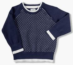 Losan chlapecký svetr s puntíky