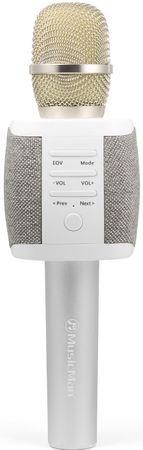 Technaxx mikrofon Fabric BT-X44, szary