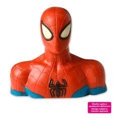 Dekora Figurka na dort Spiderman celá z čokolády 39x22x29cm