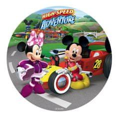 Dekora Fondánový jedlý papír na dort Mickey a Minnie formule 20cm