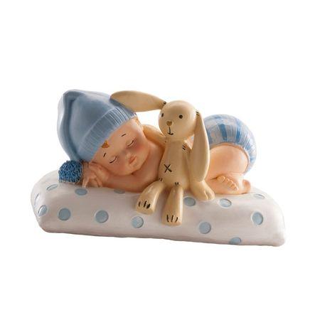 Dekora Figurka na dort spící miminko chlapeček