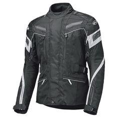 Held dámska predĺžená moto bunda LUPO čierna/biela, vodeodolná membrána