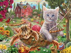 SunsOut Puzzle 1000 dílků Adrian Chesterman - Cats on the Farm