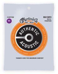 Martin SP Flexible Core Silk & Phosphor Custom Kovové struny na akustickú gitaru