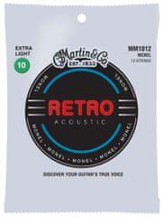 Martin Retro 12-String Extra Light Struny na dvanásťstrunovú gitaru