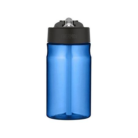 Thermos Baba hidratáló üveg szalmával - kék 350 ml