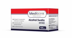 Mediblink M140 alkoholni robčki, 100x