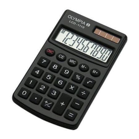 Olympia kalkulator LCD-1110, črn