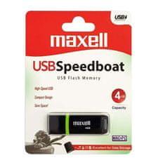 Maxell USB ključ, 4GB, Speedboat, 2.0