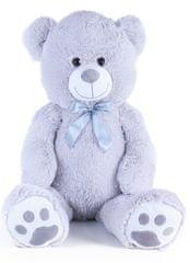 Rappa veliki plišani medvjed 100 cm, sivi