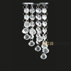 ACA ACA Lighting Crystal zapuštěné svítidlo S7226