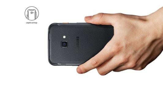 Samsung Galaxy XCover 4s, odolný telefon, vojenská odolnost, pogumovaný, protiskluzový