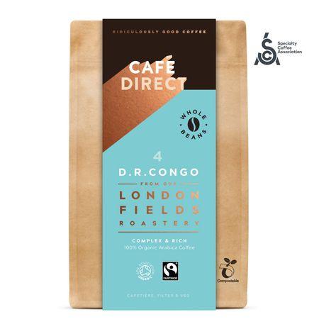 Cafédirect BIO zrnková káva Congo SCA 84 s tónmi medu a horkej čokolády 200 g