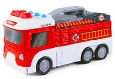 Rappa Tűzoltó autó, bázissá alakítható, hang, fény