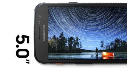 Samsung Galaxy XCover 4s, velký displej