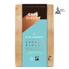 Cafédirect BIO mletá káva Congo SCA 84 s tónmi medu a horkej čokolády 200 g