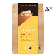 Cafédirect BIO mletá káva Honduras SCA 83 s tónmi karamelu a orieškov 200 g