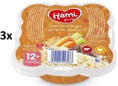 Hami Talířek zeleninový bulgur s jehněčím a kuřecím masem 3x 230 g, 12+