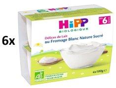 HiPP BIO Mliečny dezert tvarohový 6x(4x100g)
