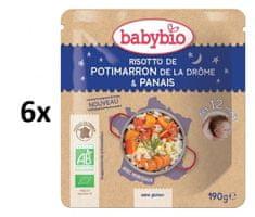 Babybio Dýňové rizoto s pastinákem 6x190 g