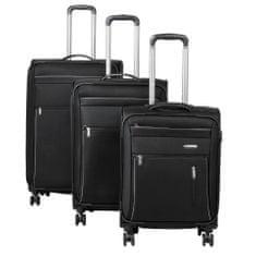 Travelite Capri 4w S,M,L – sada 3 kufrů + BB