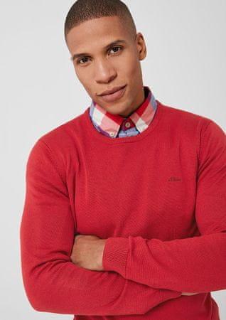 s.Oliver pánský svetr M červená