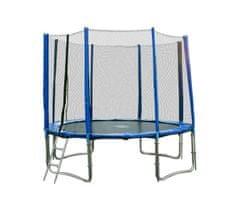 Goodjump 4UPVC blue trampolína 305 cm s ochrannou sítí + žebřík + krycí plachta + kotvící sada 4 (ks)