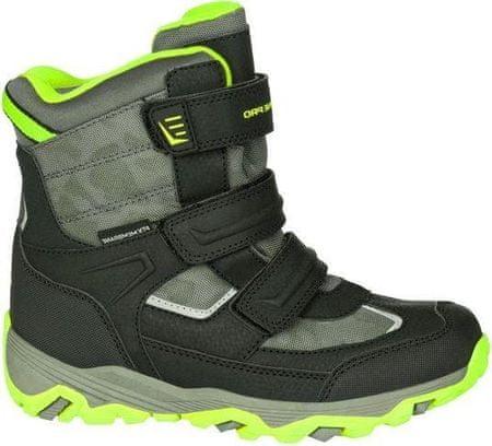 ALPINE PRO chlapecké zimní boty Acacio černá 31