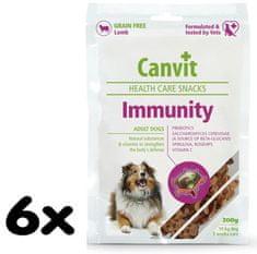 Canvit suplement diety dla psa Snacks Immunity - 6x 200g