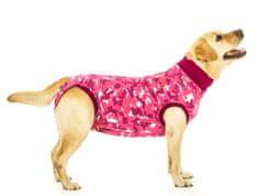 Suitical Pooperační ochranné oblečení pro fenu růžové