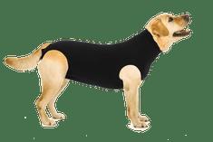 Suitical Pooperační ochranné oblečení pro psa černé