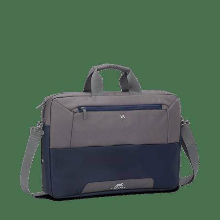 RivaCase 7757 torba, 43,9 cm (17,3''), sivo-modra