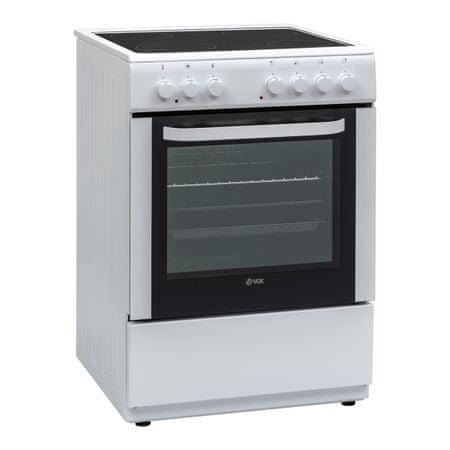 VOX electronics CHT 6001 XL, steklokeramični štedilnik