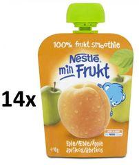 Nestlé kapsička Meruňka, Jablko 14x90g