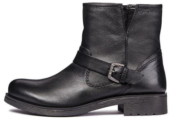 Geox dámska členková obuv Rawelle D846RC 000TU 37 čierna