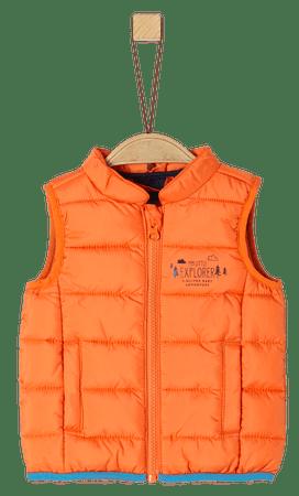 s.Oliver chlapecká vesta 80 oranžová