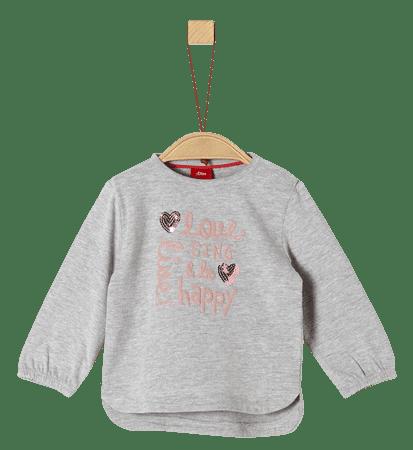 s.Oliver lány póló, 74, szürke
