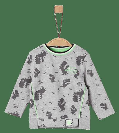 s.Oliver chlapecké tričko 62 šedá