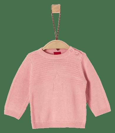 s.Oliver dievčenský sveter 50/56 ružová