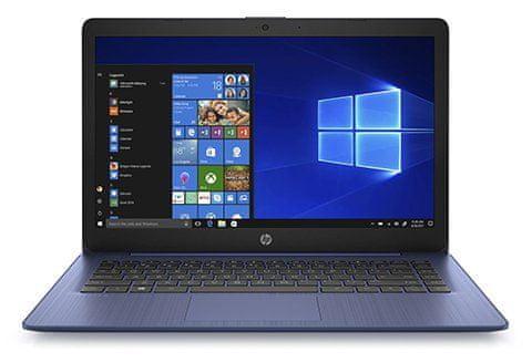 Notebook HP Stream 14-ds0011nc stereofonní reproduktory