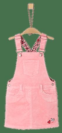 s.Oliver dívčí šaty 104 růžová