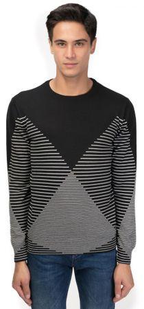 Galvanni Gong moški pulover, M, črna