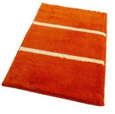 ROUTNER Fürdőszoba-szőnyeg, cseh produkció, IRSINA Narancssárga
