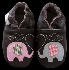 Rose et Chocolate Dívčí capáčky se slony Classicz
