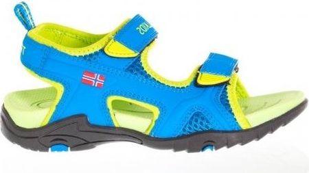 Trollkids chlapecké Kids Orrestrand sandály modrá 34
