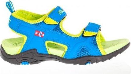 Trollkids chlapecké Kids Orrestrand sandály modrá 35