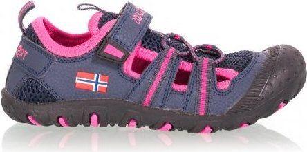 Trollkids dívčí sandály Sandefjord modrá 31