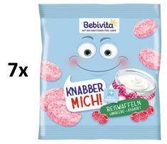 Bebivita Ryžové oblátky Maliny-jogurt 7x30g
