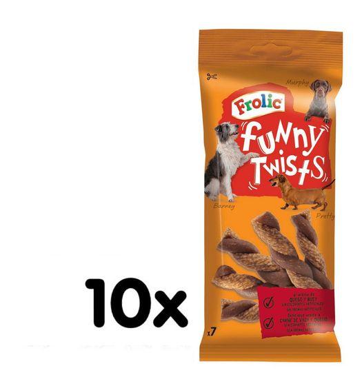 Frolic Funny Twists 10 x 140 g